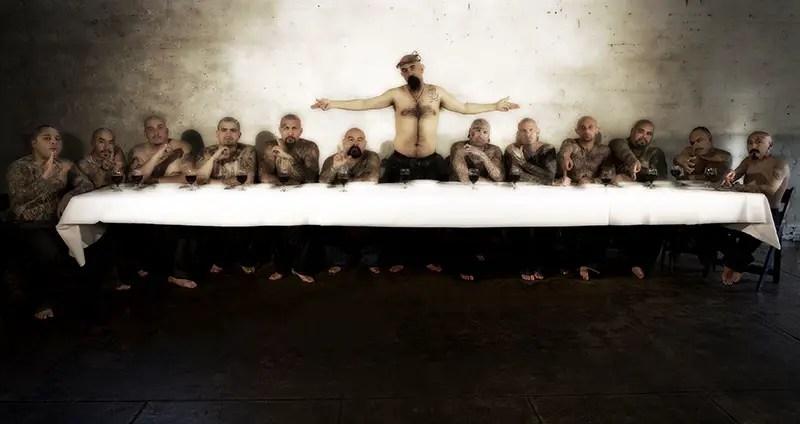 Gangsters Last Supper by Bjoern Thomas