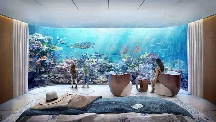 luxury underwater home