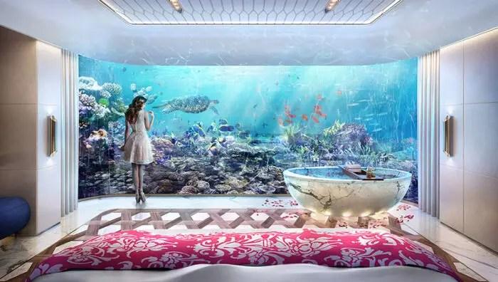 underwater luxury bathroom