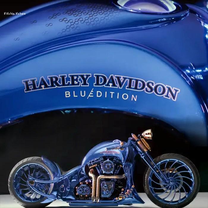 Bucherer Harley Davidson Blue Edition