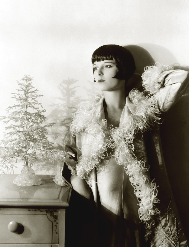 Louise Brooks christmas