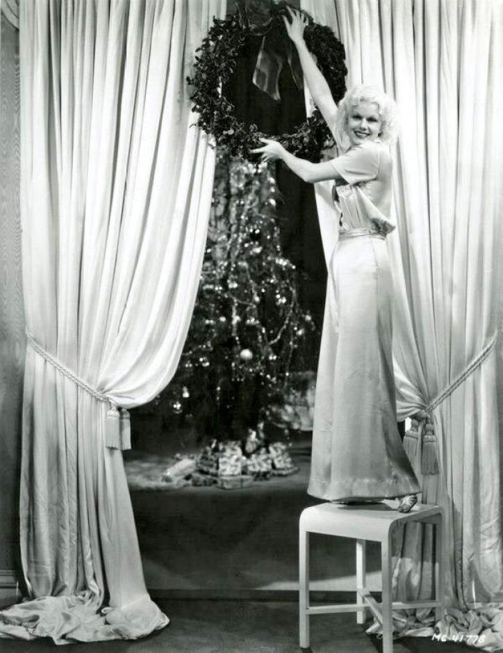 Jean Harlow Christmas