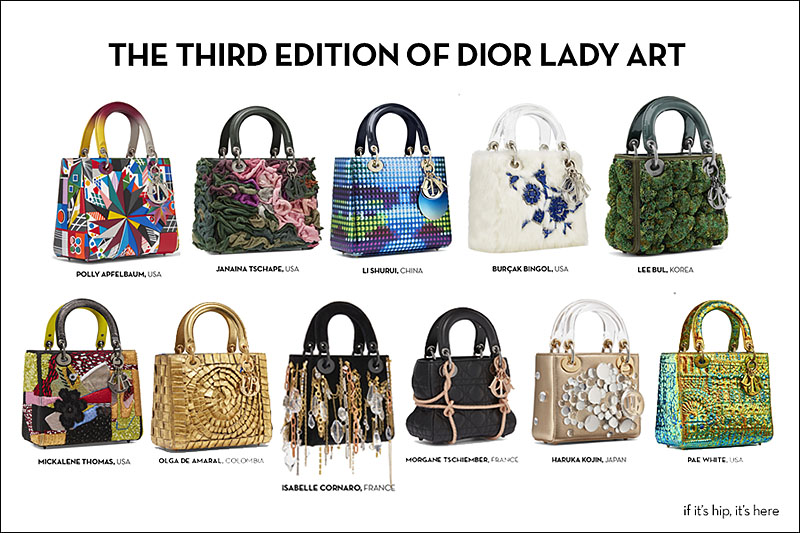 f026c704a7 ... artists to share their vision of the iconic Lady Dior bag by using the  architectural handbag as a canvas. Bold or subtle but always fascinating,  ...