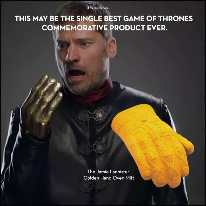 jaime lannister golden hand oven mitt