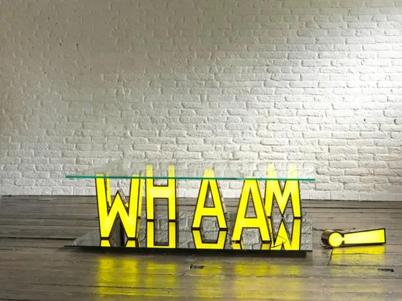 wham! coffee table