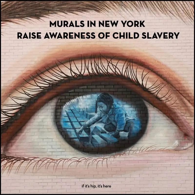 New York murals raise awareness of child slavery