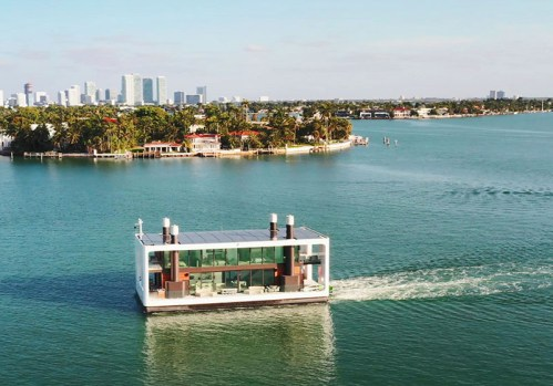 Read more about the article Arkup Livable Yachts Unveils Their First Green Floating Villa