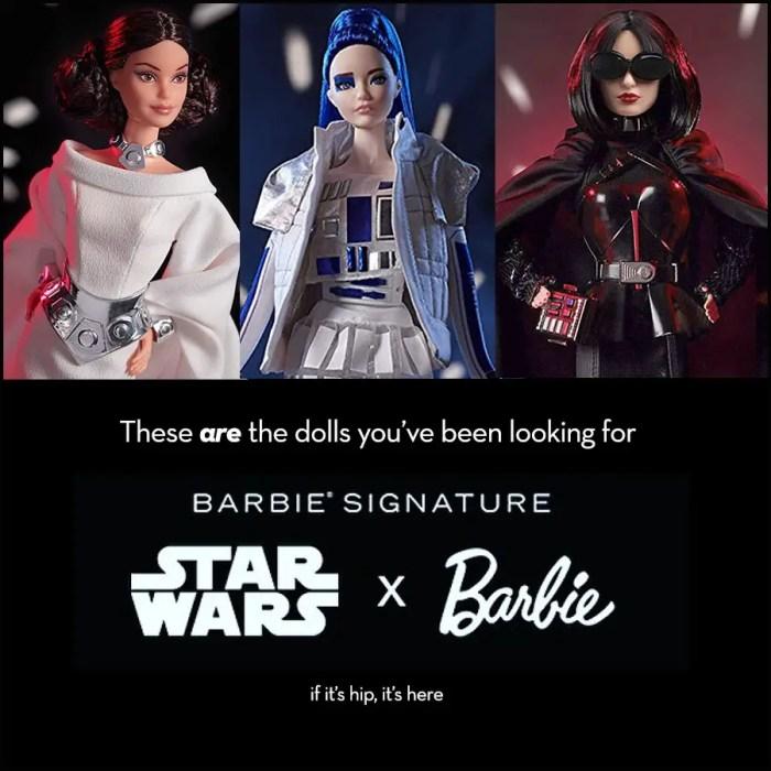 Star Wars X Barbie Dolls