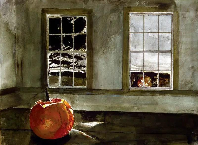 wyeth family pumpkin paintings