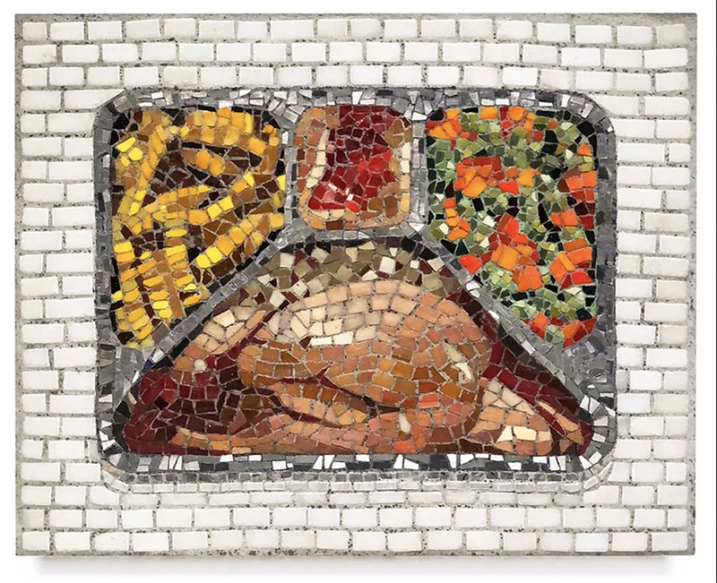 Bachor, turkey dinner (mostly white meat)