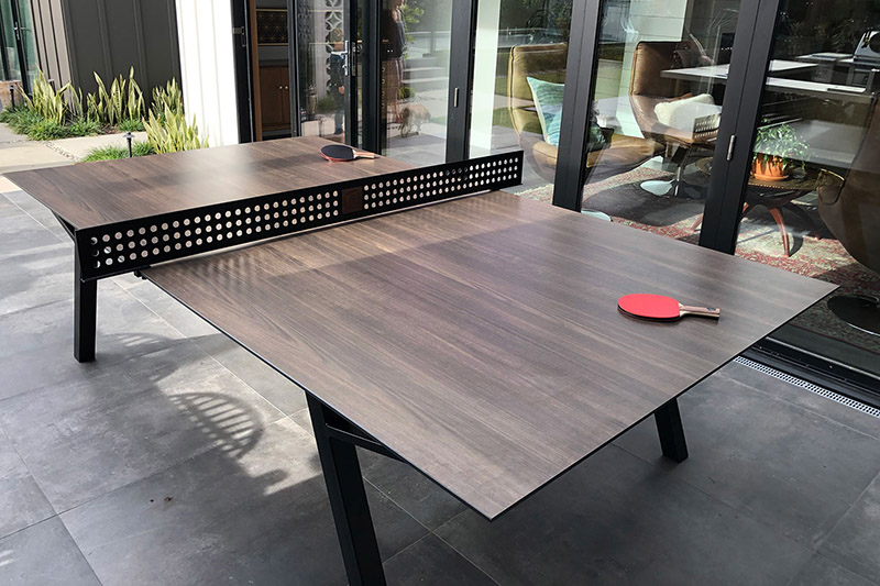 The Woolsey Outdoor Ping Pong Dining Table If It S Hip