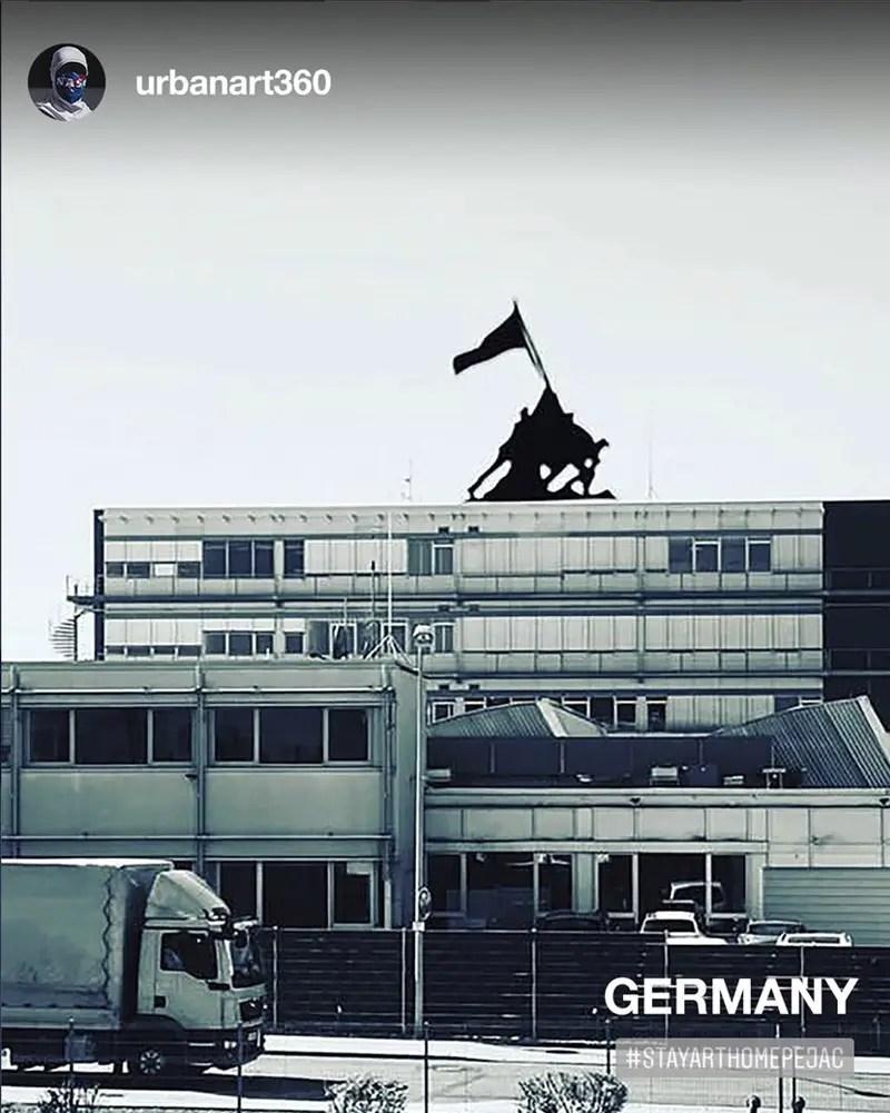 Germany window art