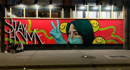 Read more about the article 25 of The Best Coronavirus-Inspired Murals From All Over The World