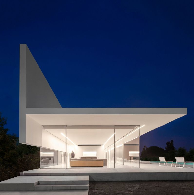 modern home in spain