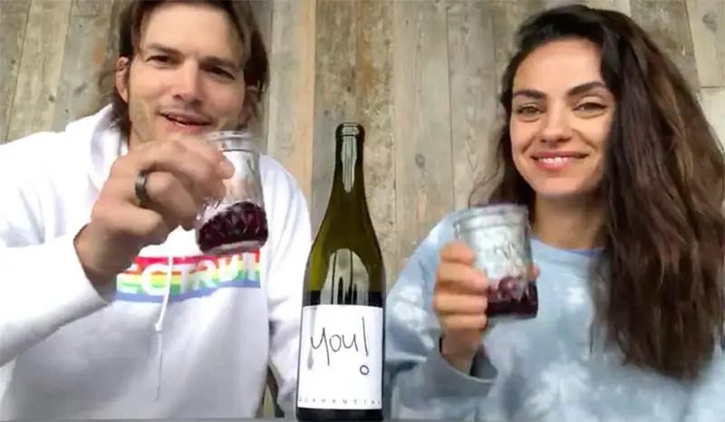 Ashton and Mila Quarantine Wine