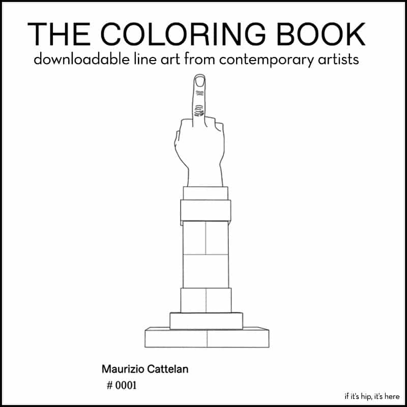Milano Art Guide Coloring Book