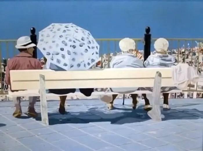 contemporary beach paintings