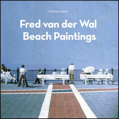 Read more about the article Dutch Artist Fred van der Wal and His Beach Paintings