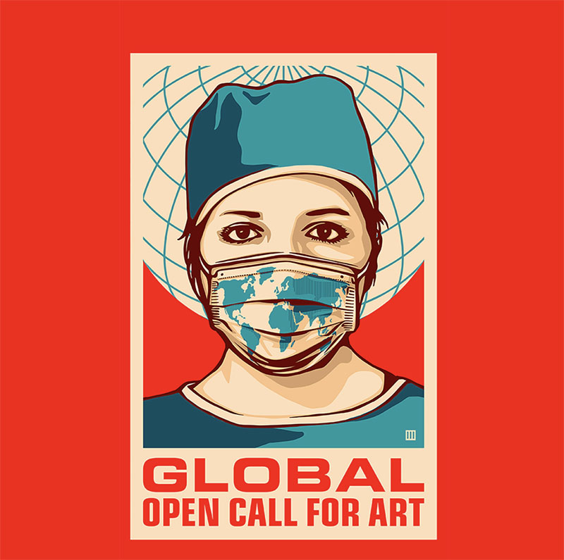 Promoting Mask-Wearing With Art