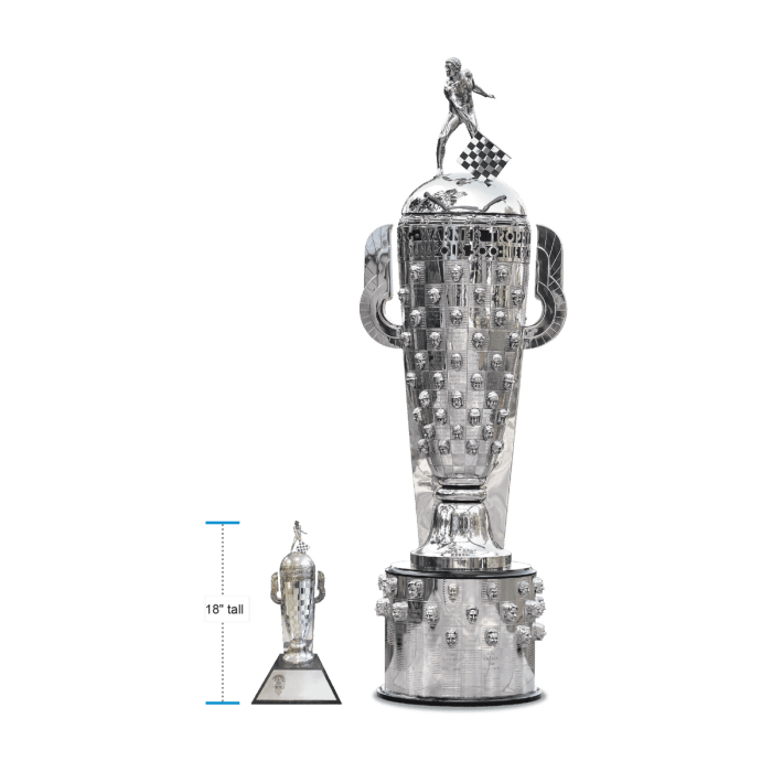 Borgwarner trophy and baby borg