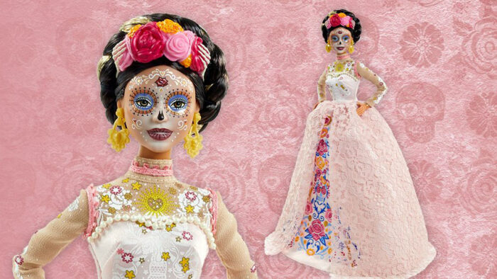 new 2020 Day of the dead barbie doll