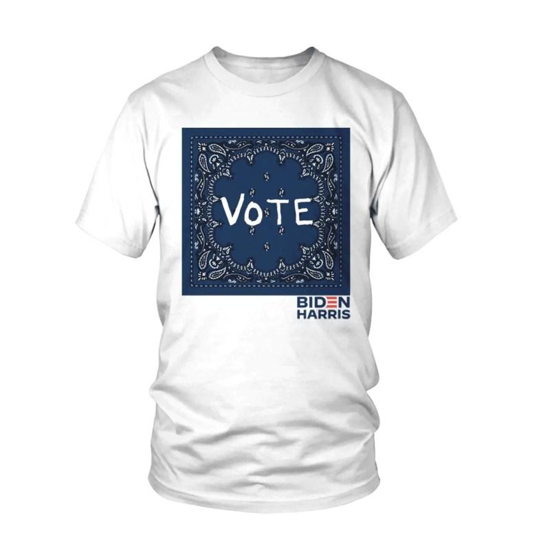 Tory Burch vote biden harris tshirt