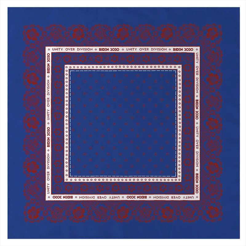 blue altazurra biden harris bandana