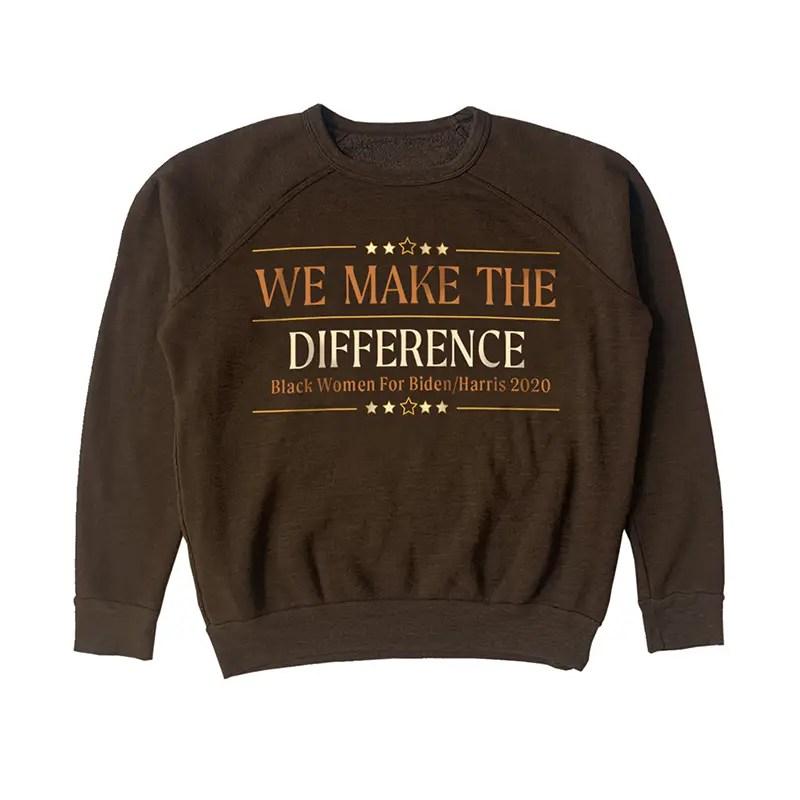 we make the difference james aurora sweatshirt