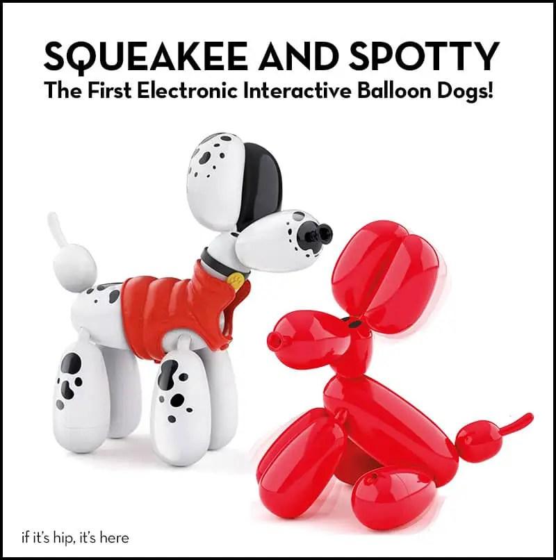 Interactive balloon dog toys