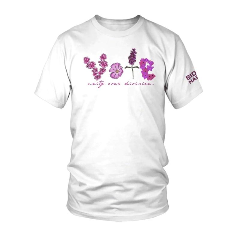 vote Biden Harris tshirt by jonathan cohen