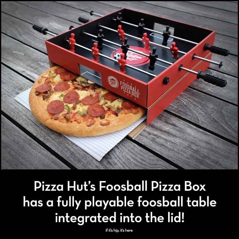 Foosball Pizza Box