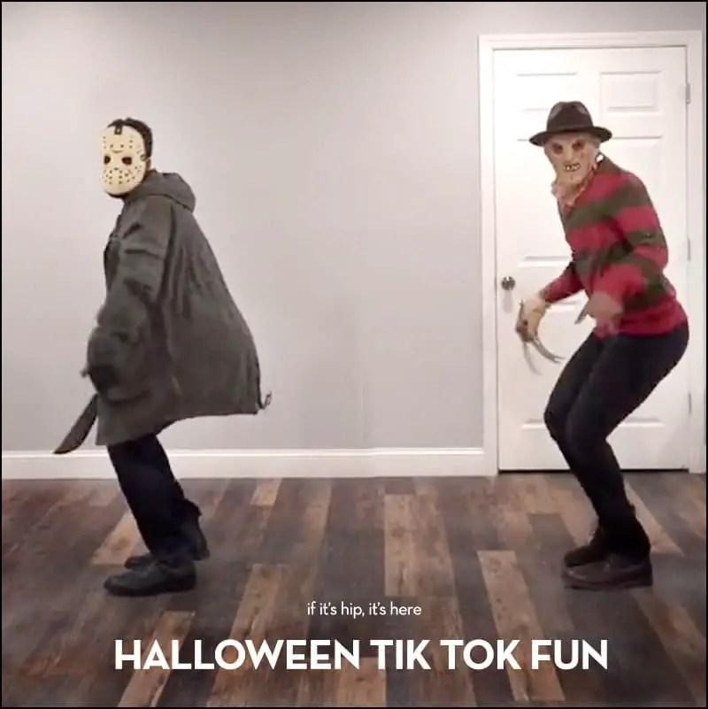 Halloween Thriller Dance Tik Tok
