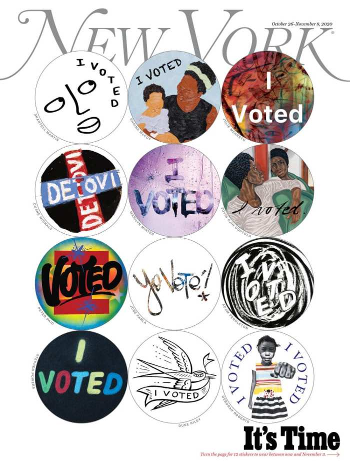 artist I voted stickers Collectible Edition Cover C