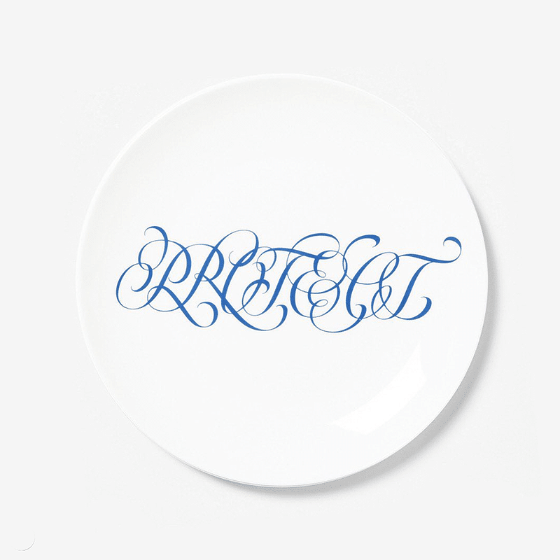 Jenny Holzer plate