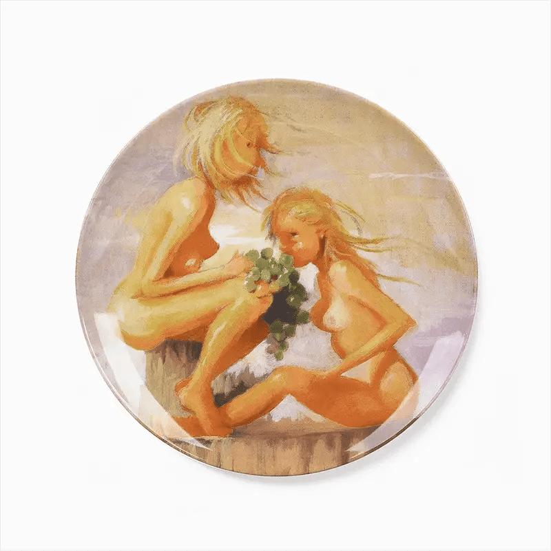 lisa Yuskavage plate