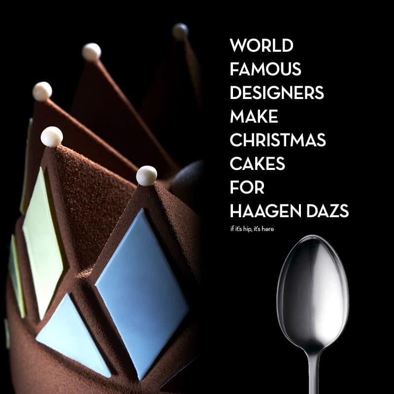 Häagen Dazs Designer Christmas Cakes