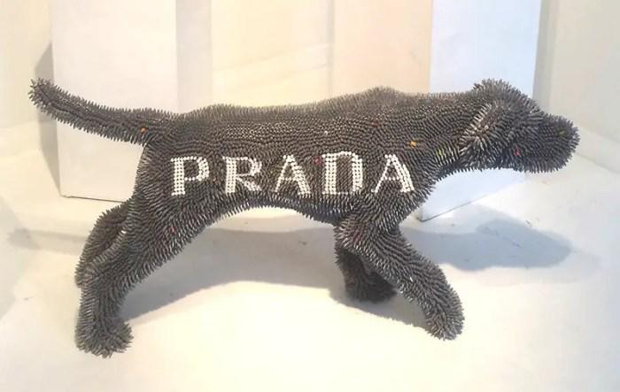 Herb williams Prada Crayon dog