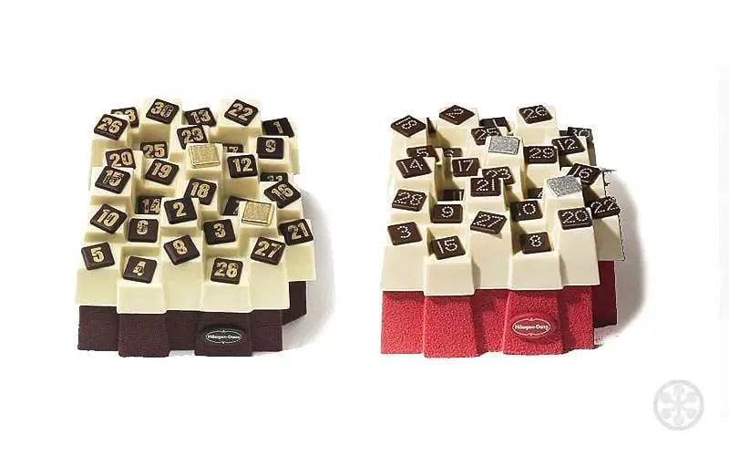 advent calendar cakes paolo navone