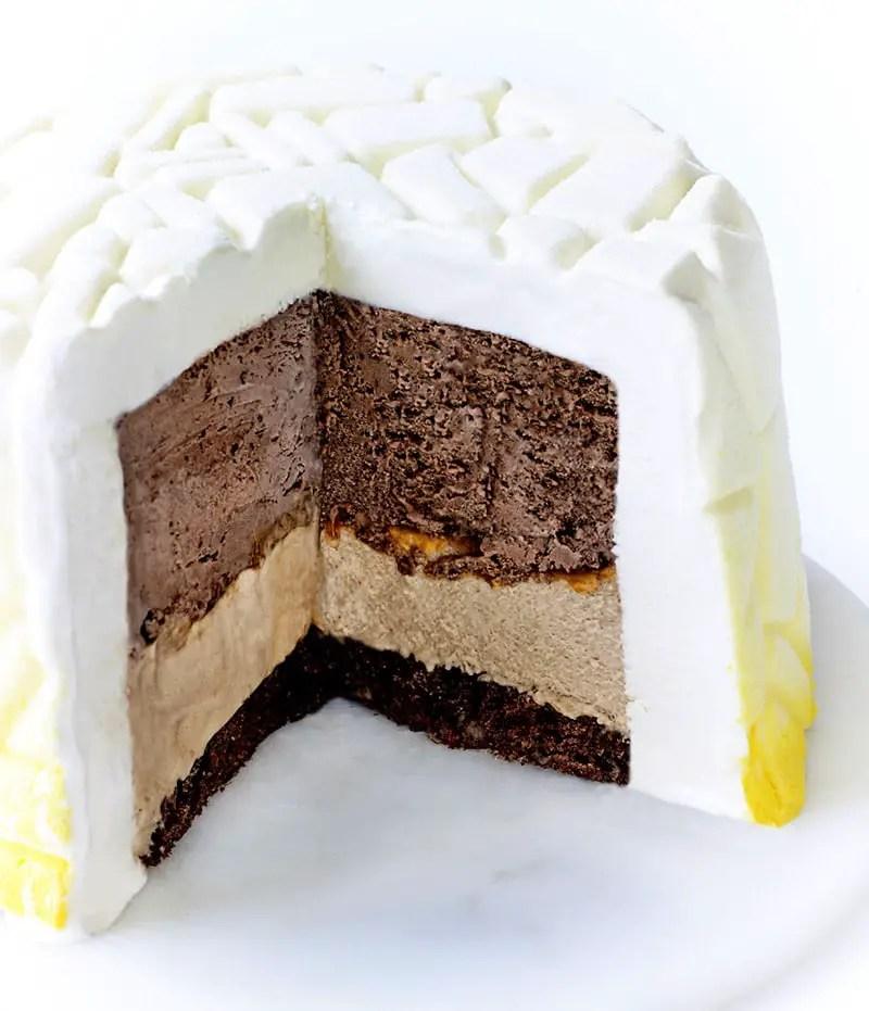 campana brothers haagen-dazs-holiday-cake-inside