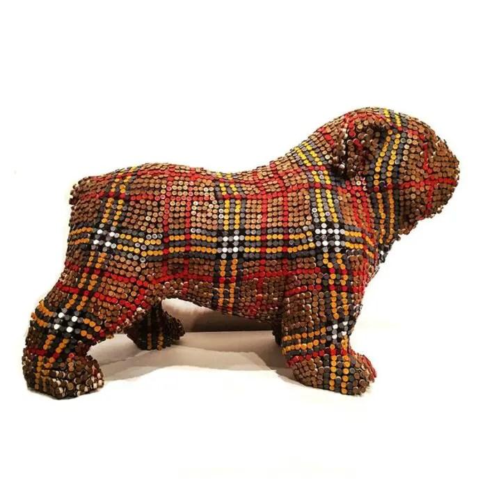 herb williams Burberry crayon bulldog