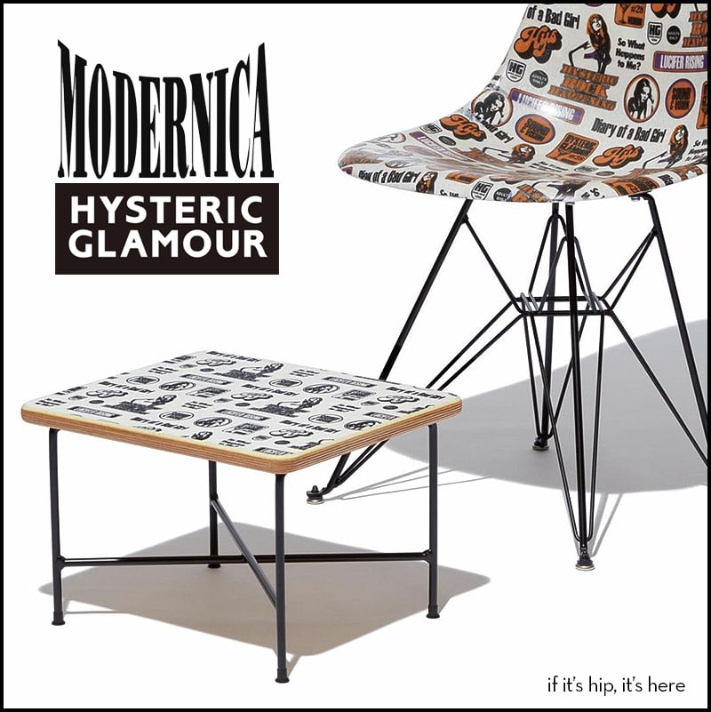modernica x hysteric glamour furniture