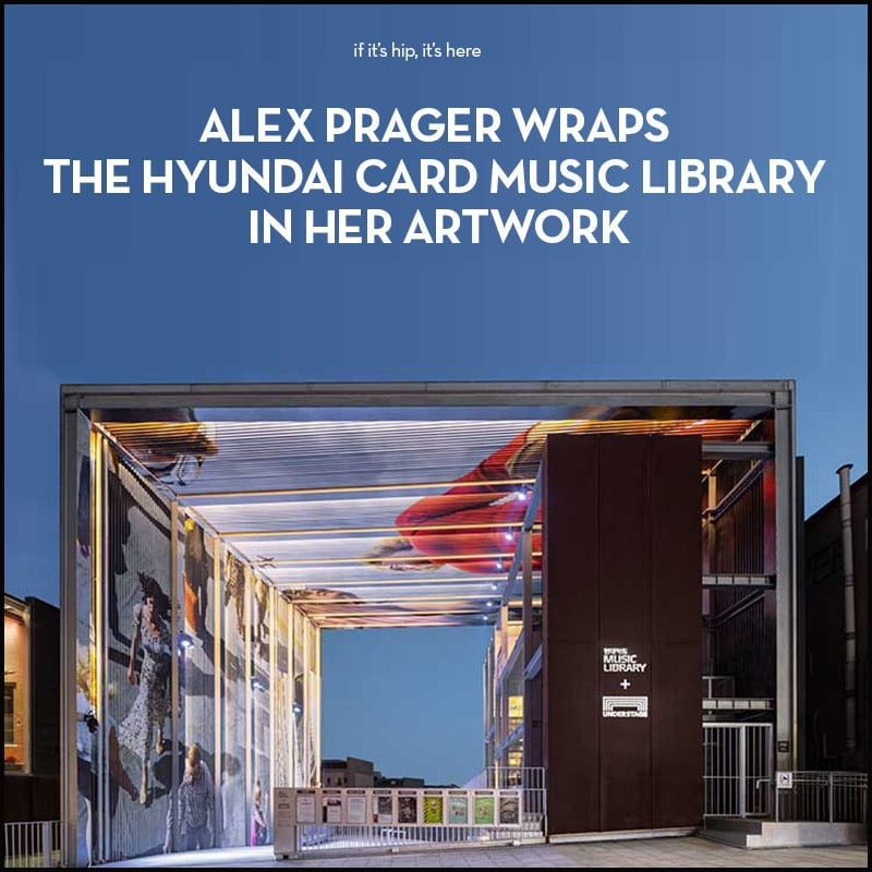 Alex Prager Hyundai Music Card Library Installation