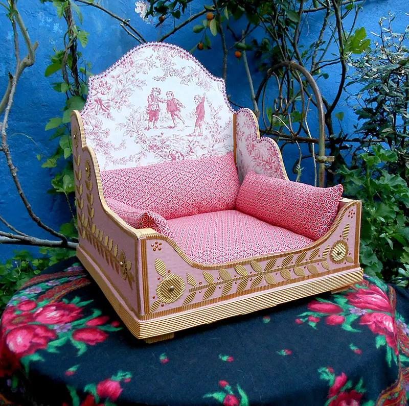 romantic cat bed