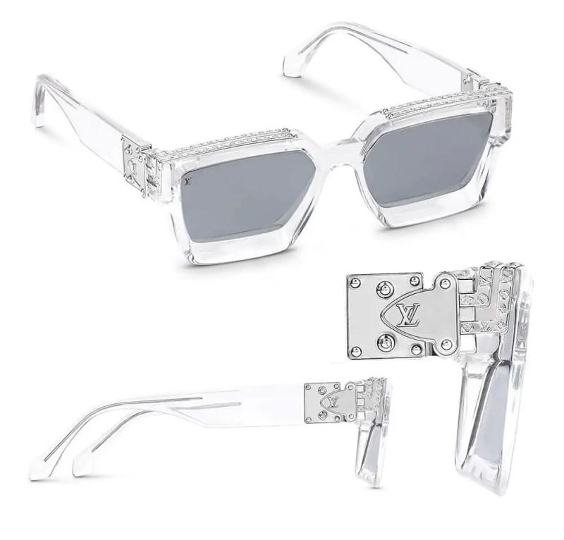 LV Virgil Abloh 1.1 Millionaire sunglasses