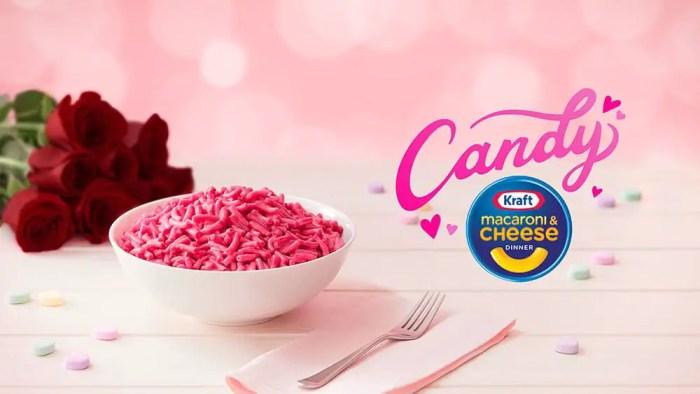 kraft pink mac n cheese valentines day