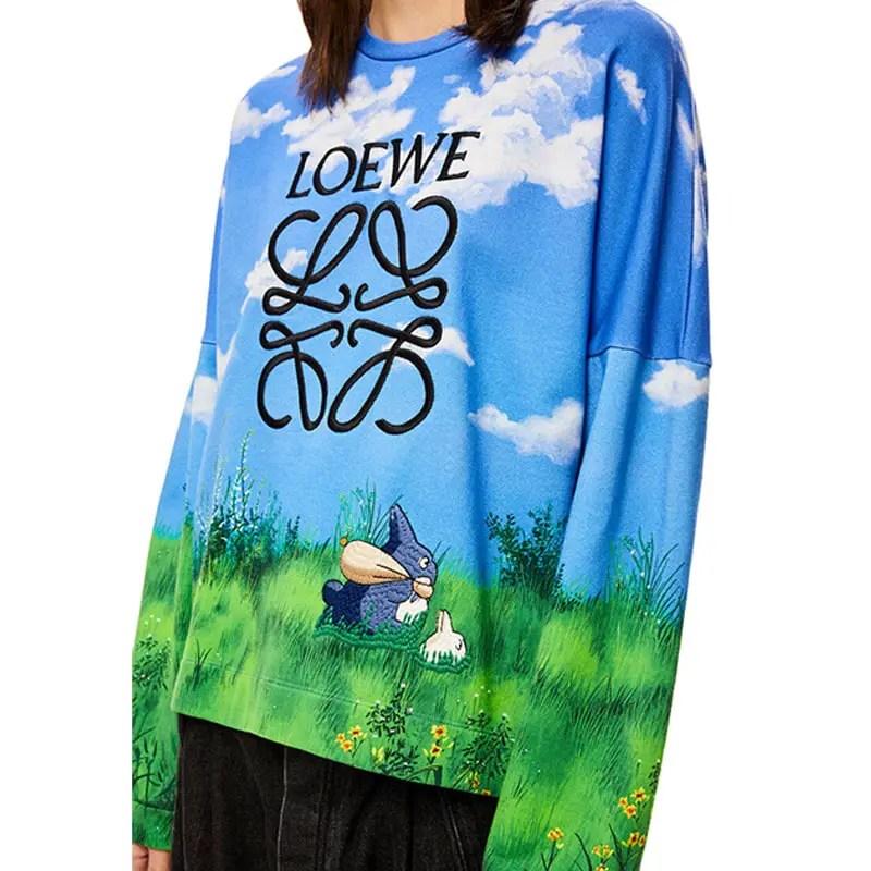 loewe totoro sweatshirt