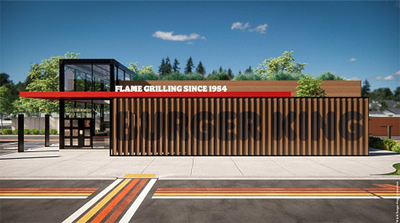 new bk store exterior design