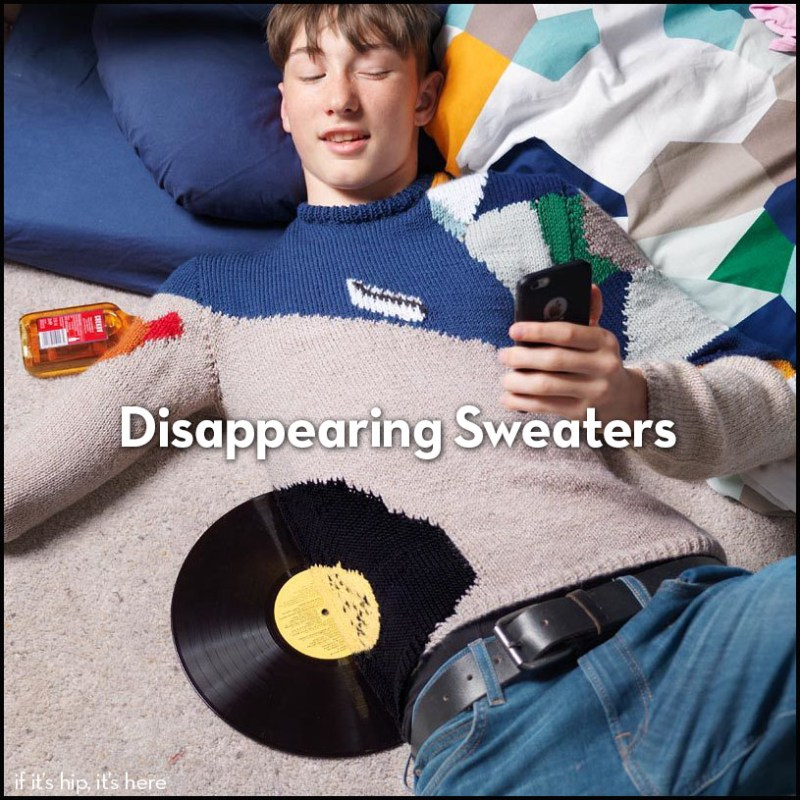 disappearing sweaters