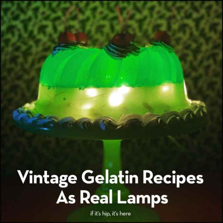 gelatin lamps by elrod