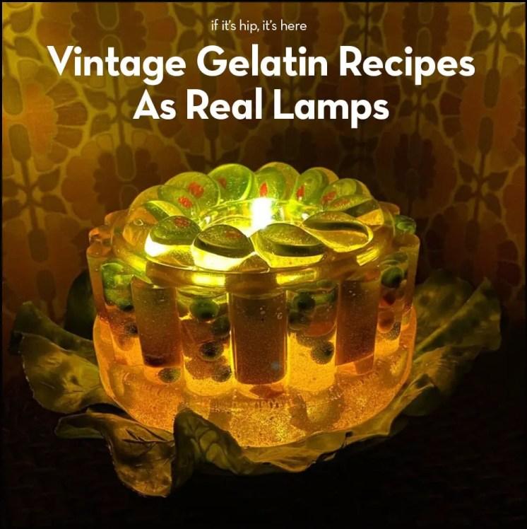 gelatin lamps